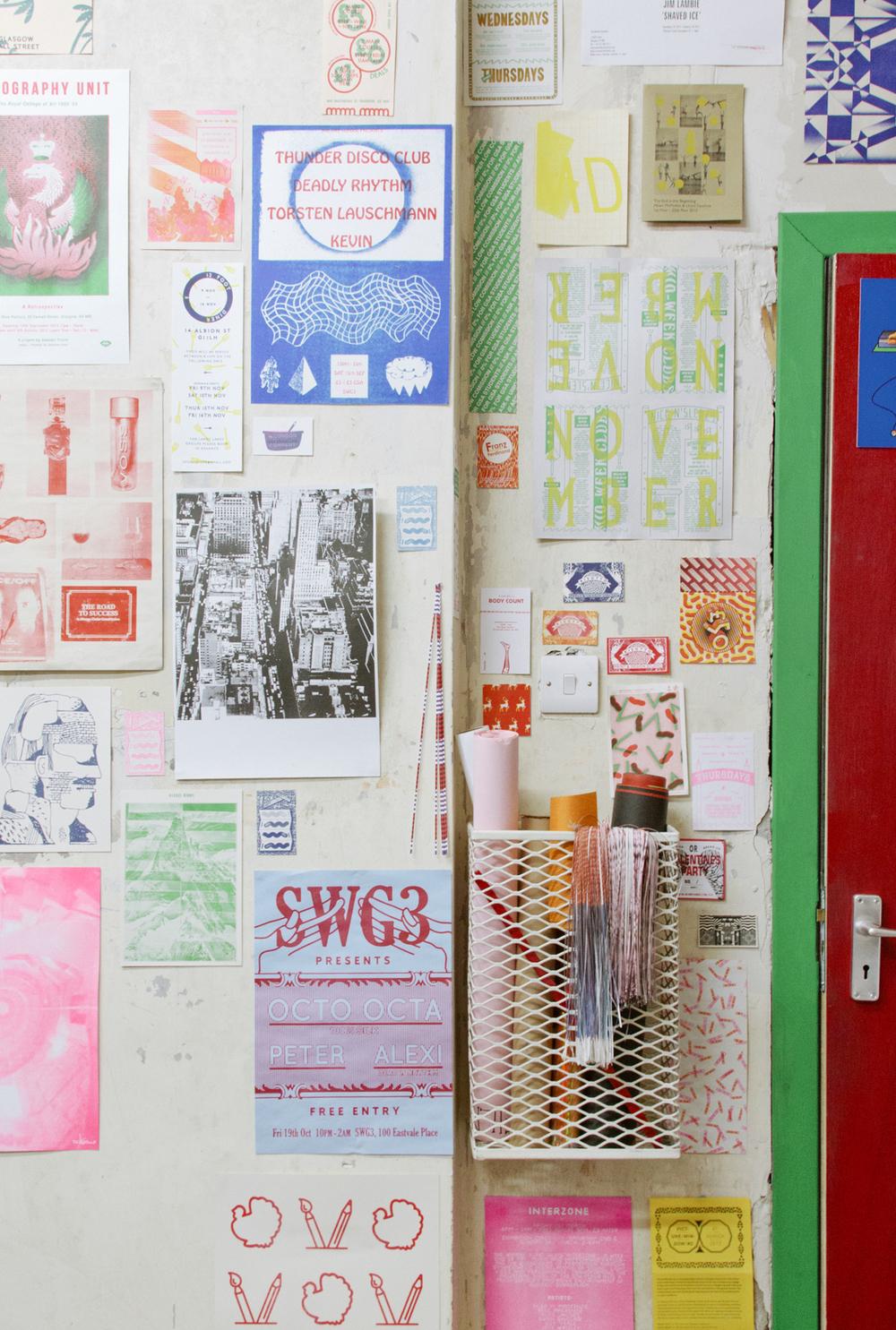 Print Club Ltd. visits Risotto Studio, Glasgow www.jointheprintshop.com
