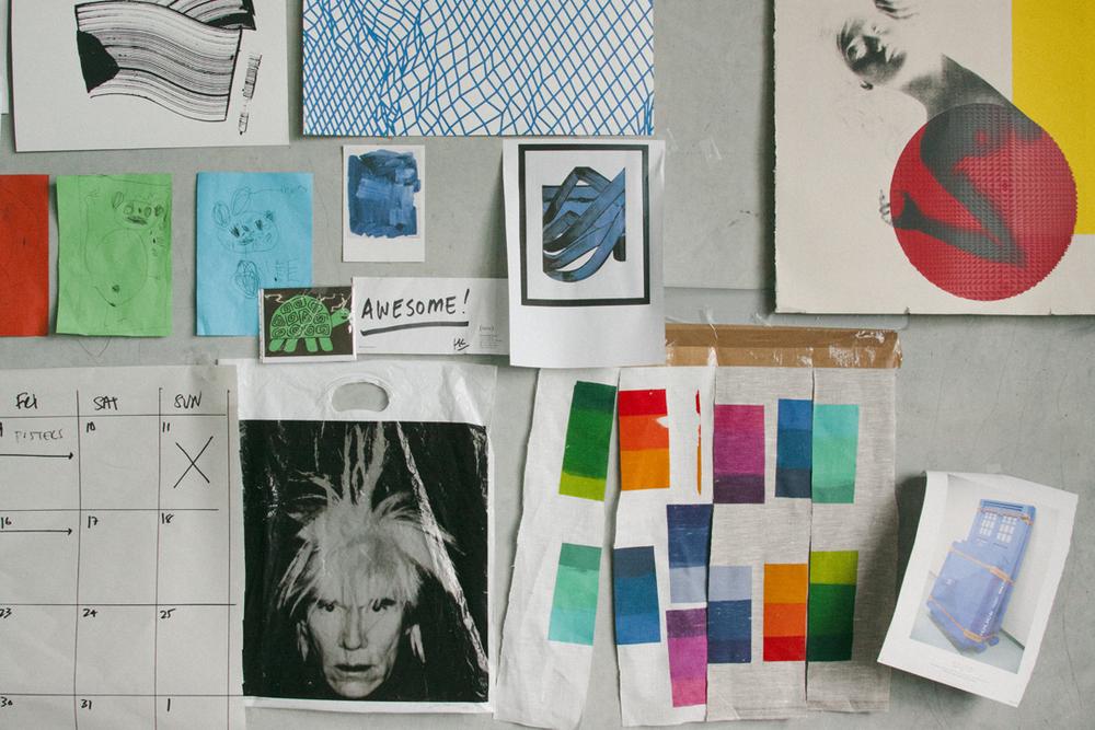 Kate Banazi's Sydney studio.