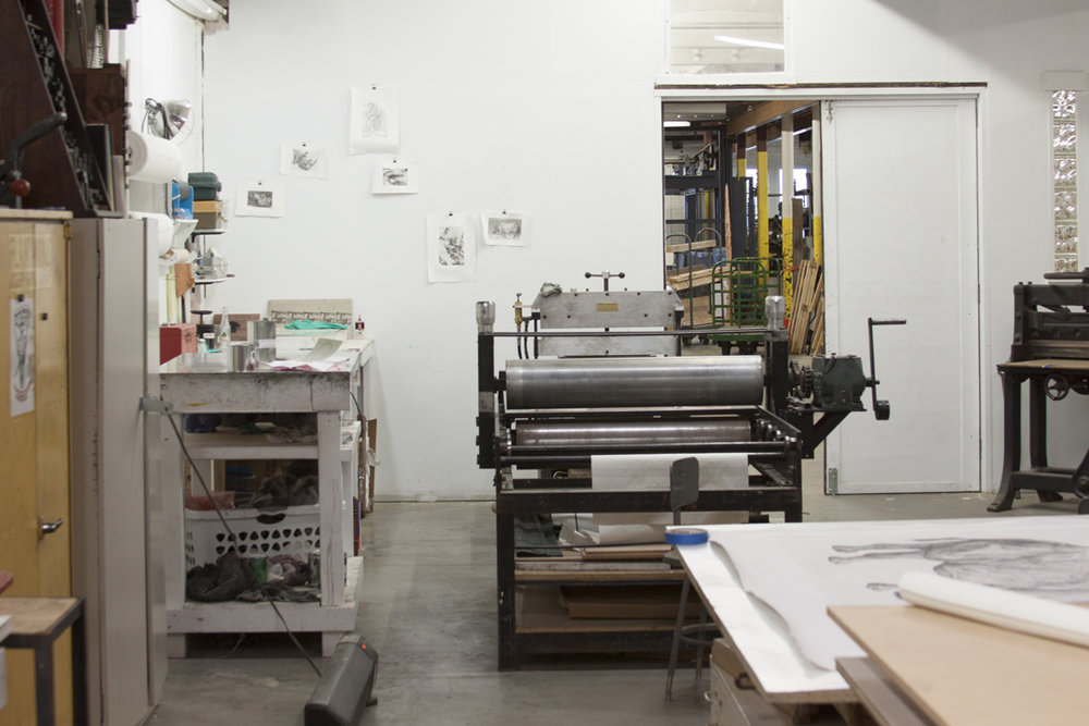 Studio Visit to Overpass Projects, Print Club Ltd. Journal