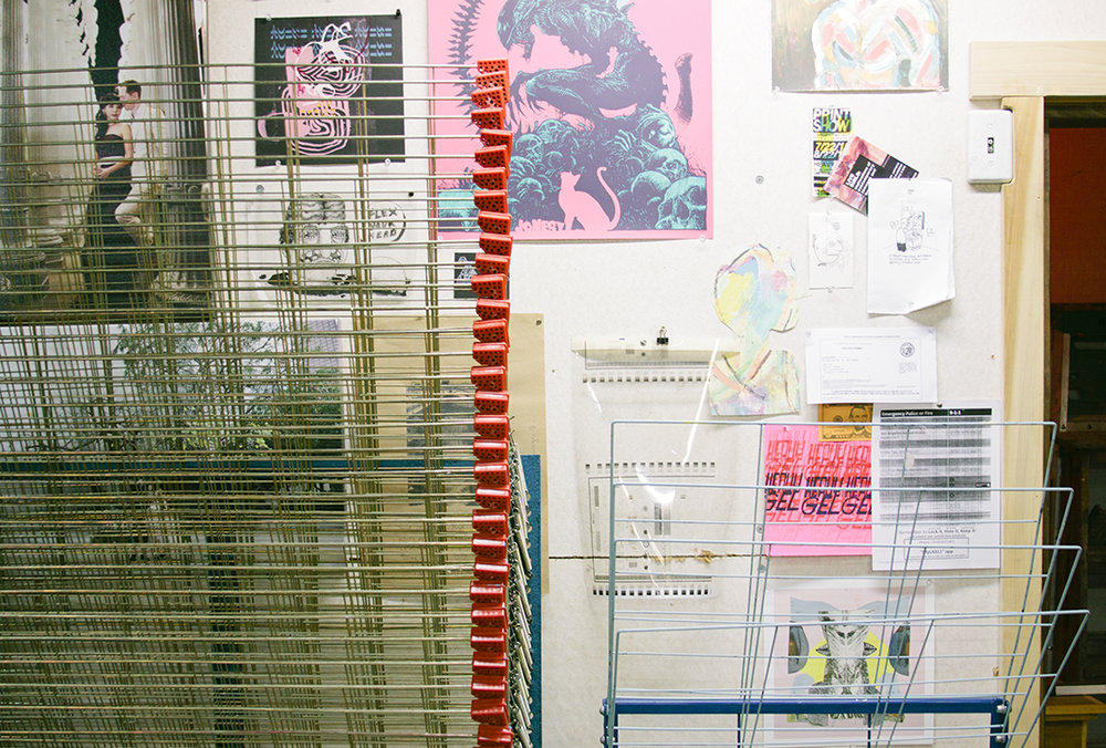 Studio Visit with Heavy Gel in LA on Print Club Ltd. Journal