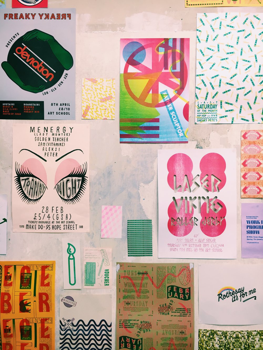 Studio Visit: Risotto Studios, Glasgow on the Print Club Ltd. Journal