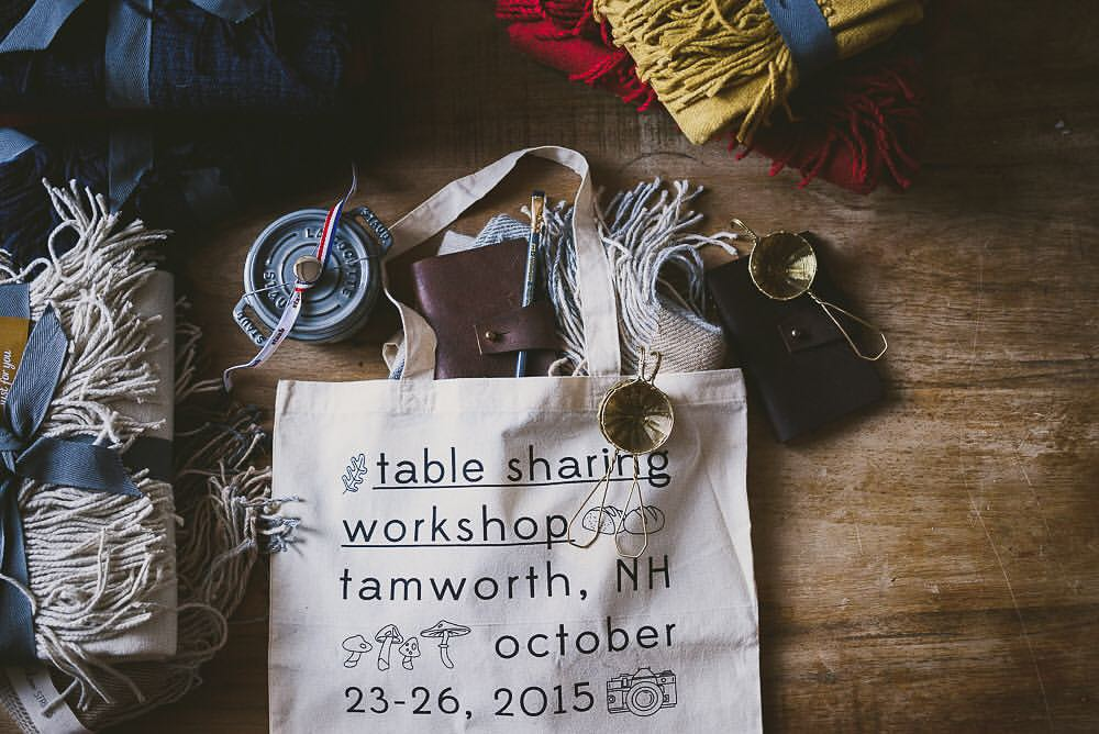 Table Sharing Workshop Tote Design
