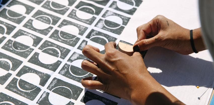 Block Printing Workshop with Block Shop