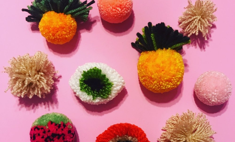 Pom Pom Mastery at Hand Craft Studio School