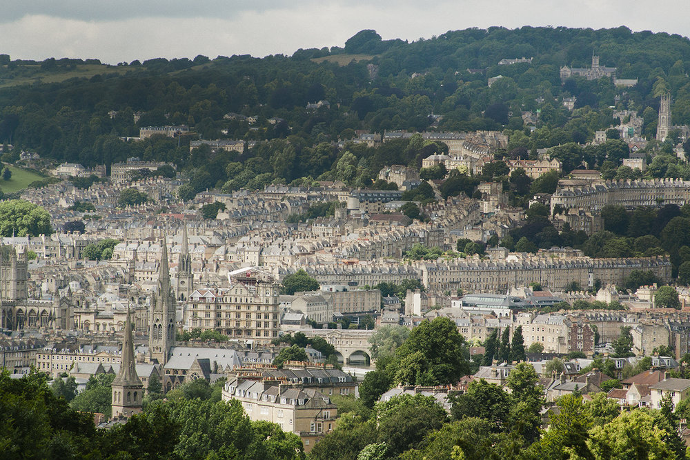 Print Club Visits Prior Park - View of the city of Bath | Print Club Ltd. Journal