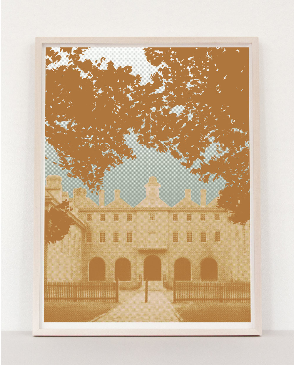College Campus Print Commission