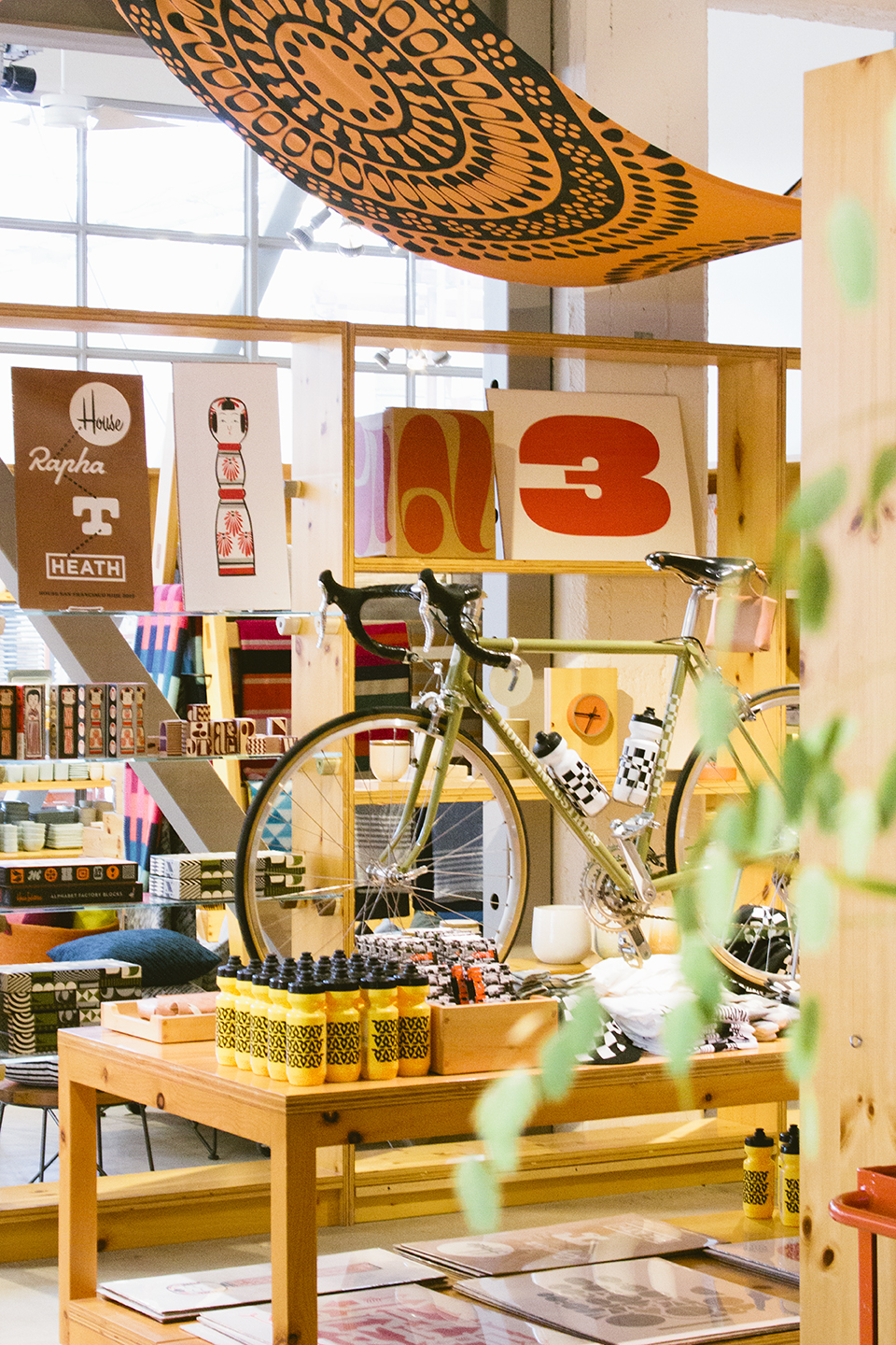 Prints and bikes and books and all good things.