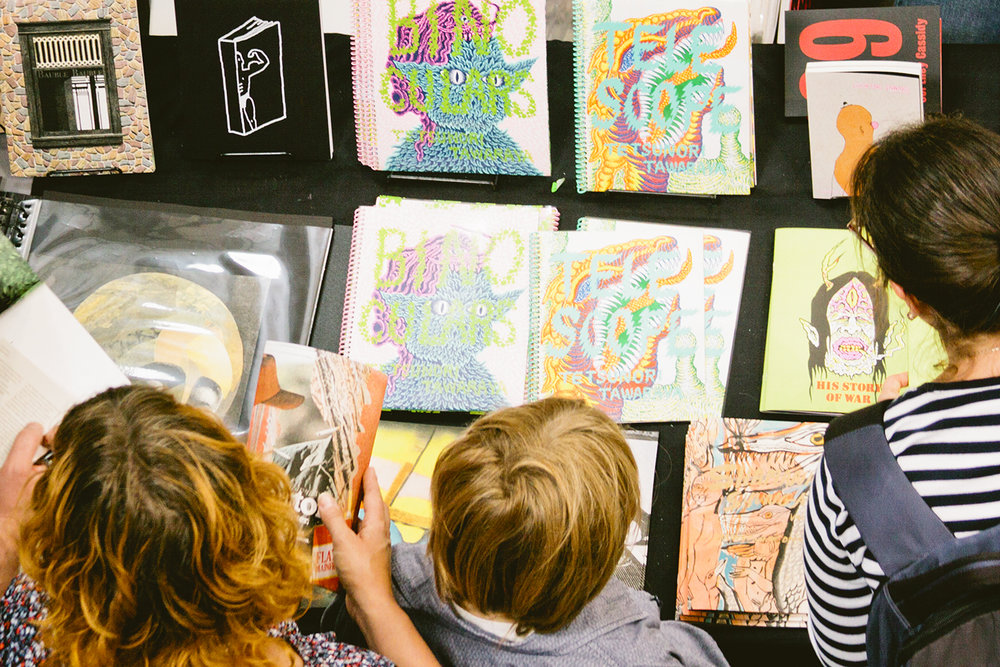 Print Club Ltd. visits the San Francisco Art Book Fair