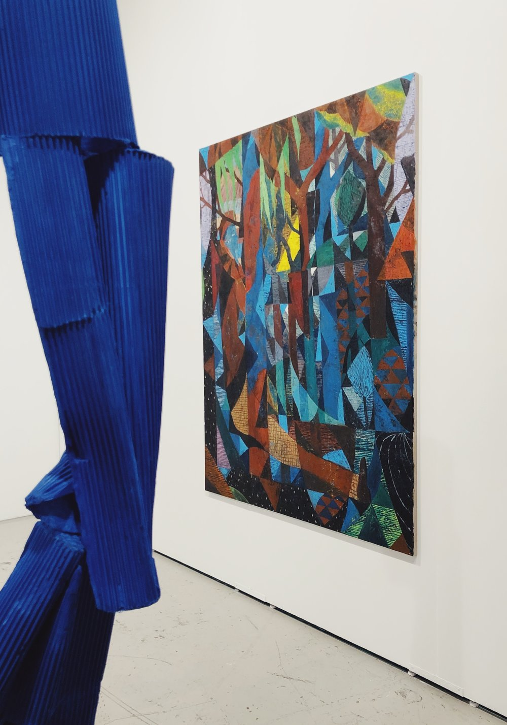 Henna Vainio and Tom Anholt at  Josh Lilley Gallery  at Art LA Contemporary
