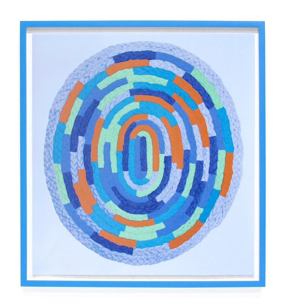 "Amie Cunat ""Rug"" silkscrene print. Print Club ltd."