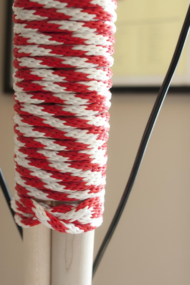 Mast detail.
