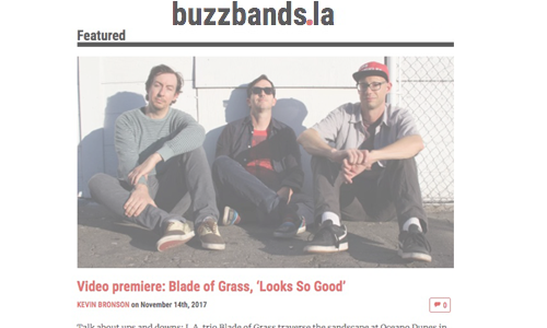 Video Premiere on BuzzBands