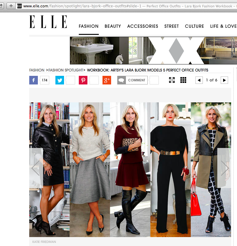 "ELLE.COM ""WORKBOOK/STYLE AT WORK"" (EDITOR, STYLIST, CASTING, ART DIRECTION)"