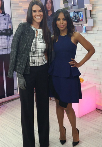 "TALKING ""SCANDAL"" FASHION ON GMA WITH KERRY WASHINGTON"
