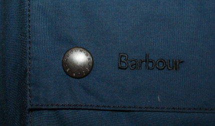 Truth be told my Barbour jacket is not yet in hand. This is one of Kevin's newly re-waxed jackets. Fancy.