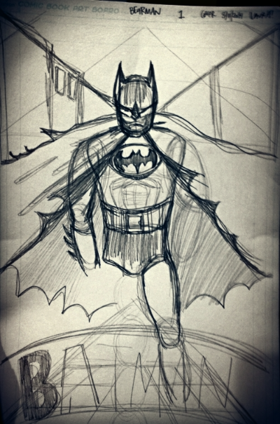my attempt at Batman. be impressed.