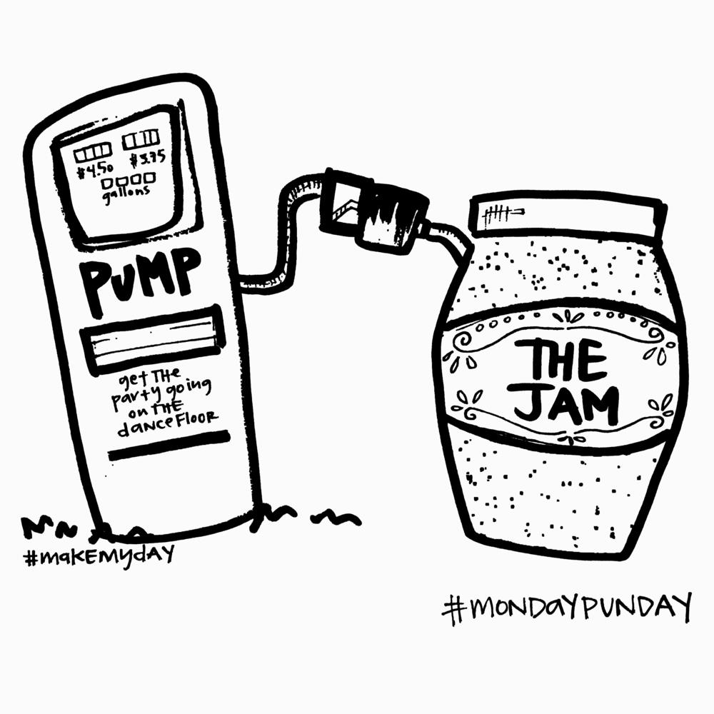 pump up the jam BW.jpg
