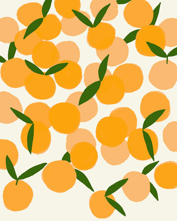 """Clementines"" by Jorey Hurkley"