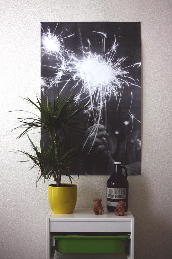 """Light Poster"" by Birch + Supply Co"