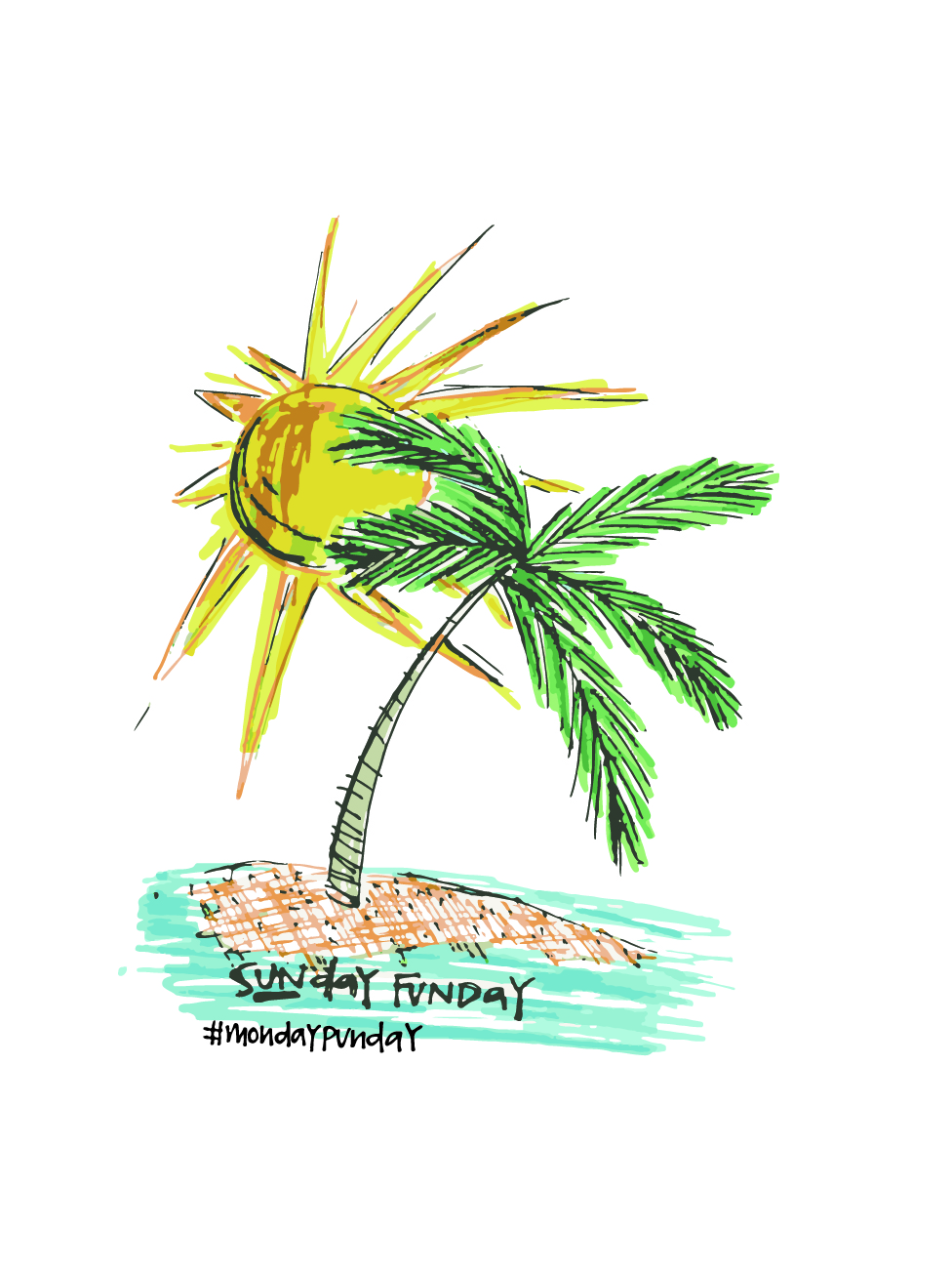 Because every day in Florida is a SUN day. (even #mondaypunday)