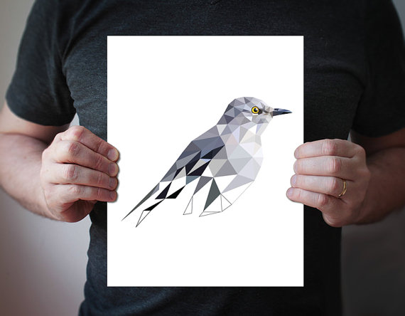 Northern Mockingbird by villavera