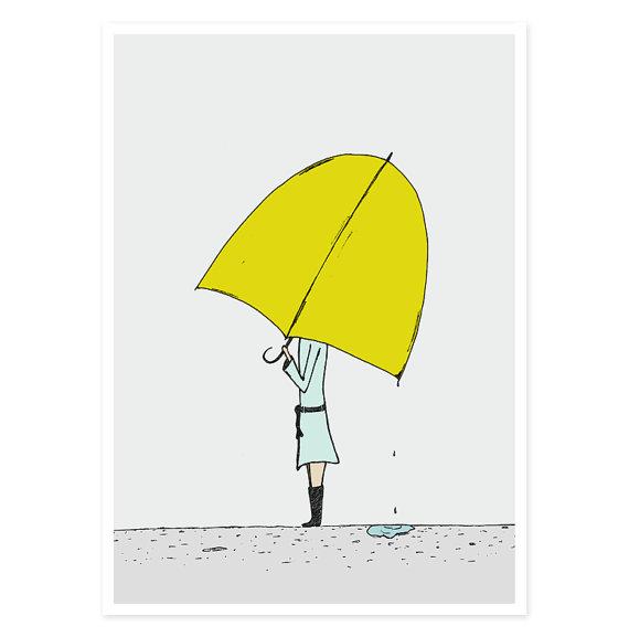 Umbrella Girl by hellosmallworld