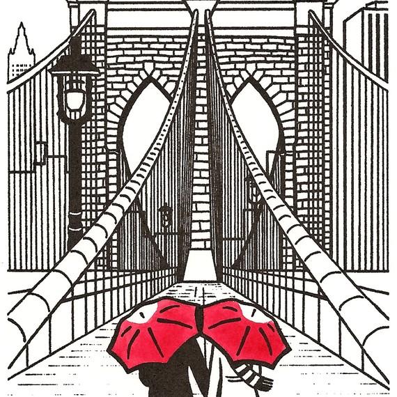 Art Shark Designs,  Brooklyn Bridge