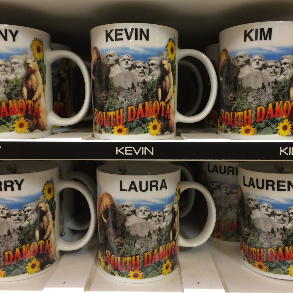 The Wall Drug souvenir spot in South Dakota confirms what we have known  since our first road trip together :  Kevin and Laura are meant to be near each other.