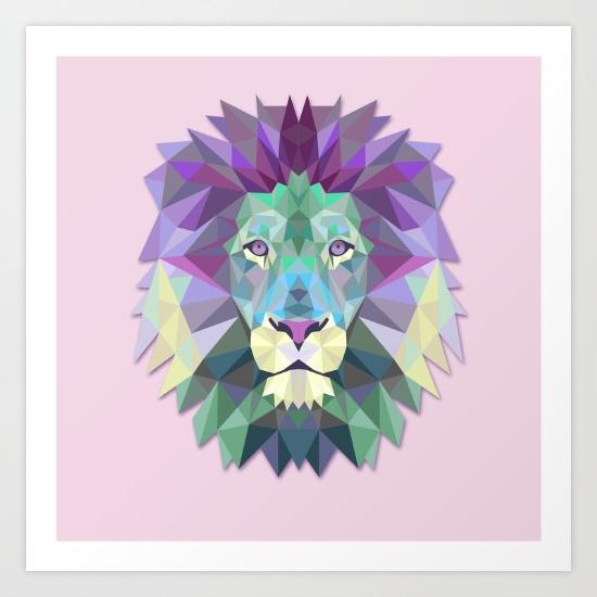 Lion,  Cardinal Design
