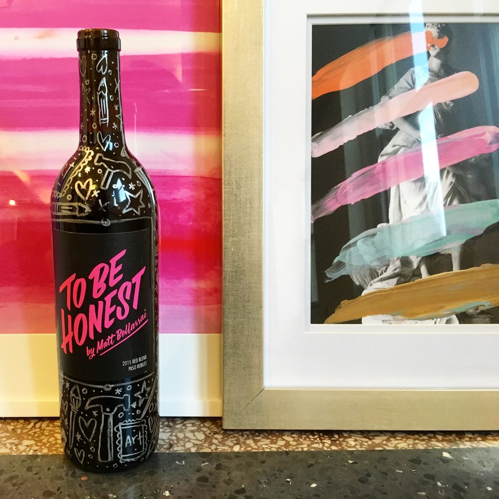 Matt Bellassai Wine (from Winc) + The new Adore Your Walls Office Art