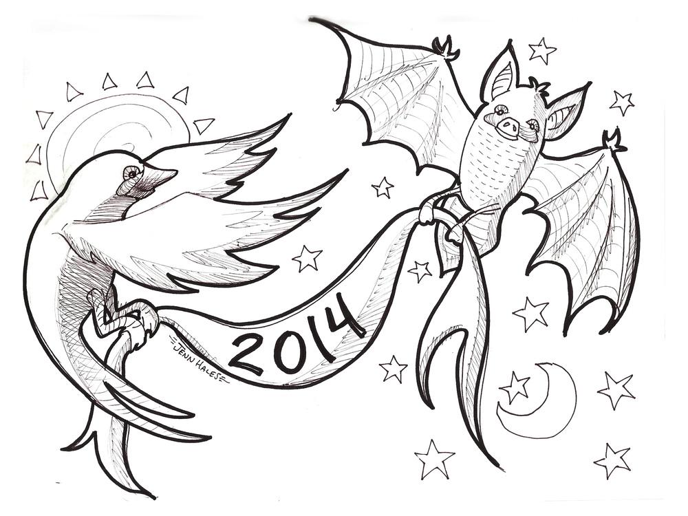 Happy 2014! - Jan 1