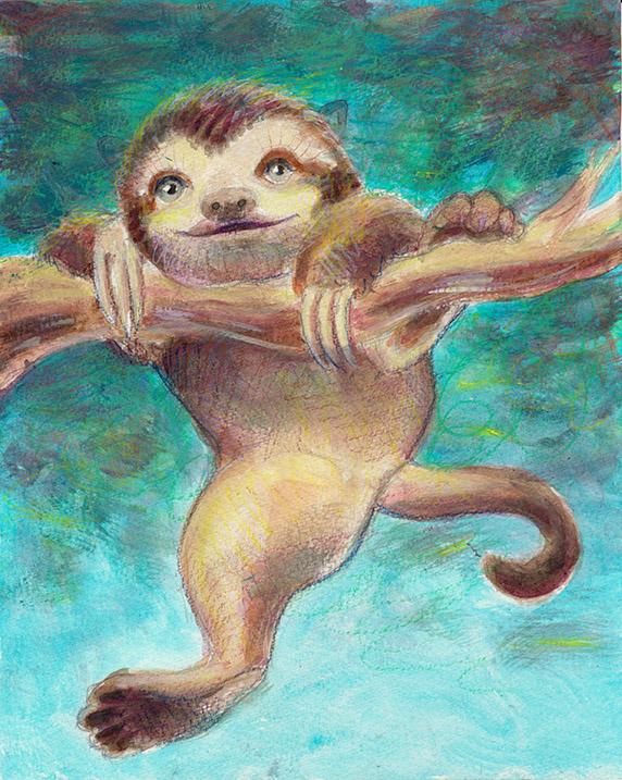 aka a Sloth-Kitten