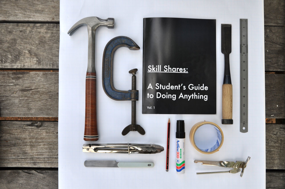 Skill Shares: A Student's Guide to Doing Anything, 2013