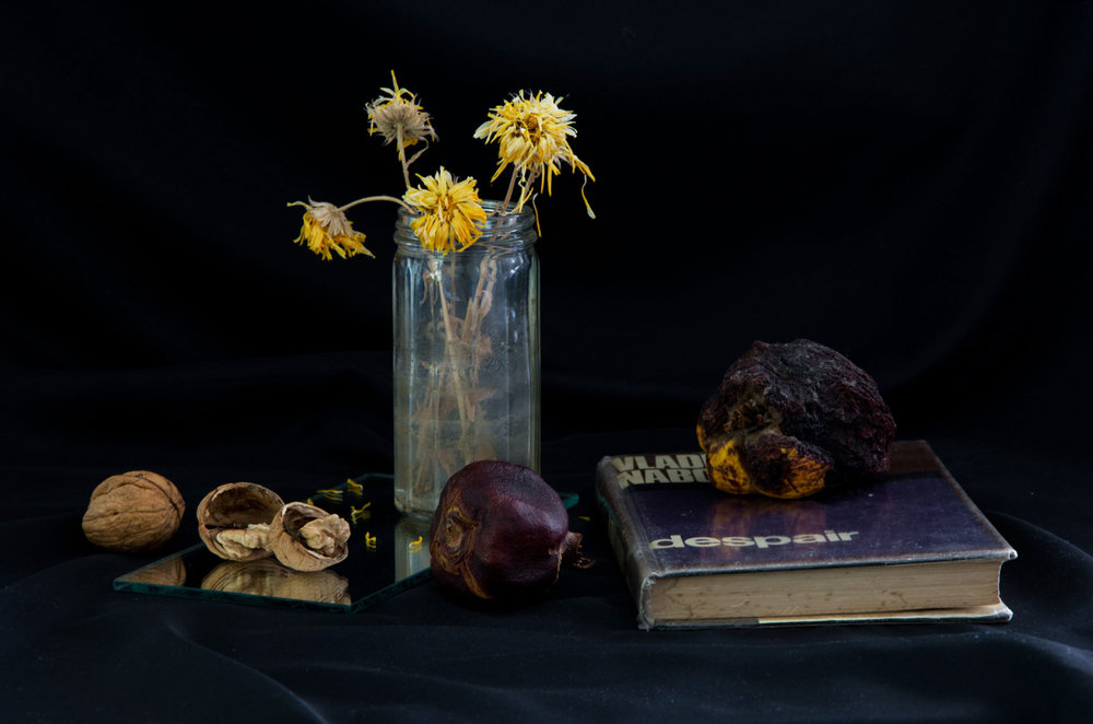 Recreation-of-Evelyn-Greene's-still-life-painting-'It's-Still-Life-with-Fruits,-Flowers,-and-a-Book'-by-Oscar-Capezio-and-Naomi-Xeros---image-courtesy-of-the-artist.jpg