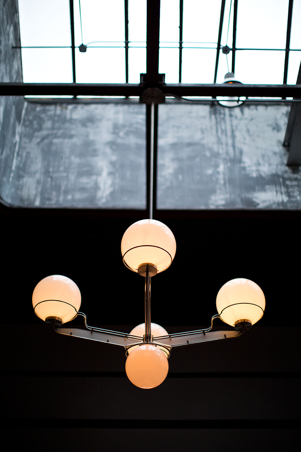 SKYLIGHT CHANDELIER
