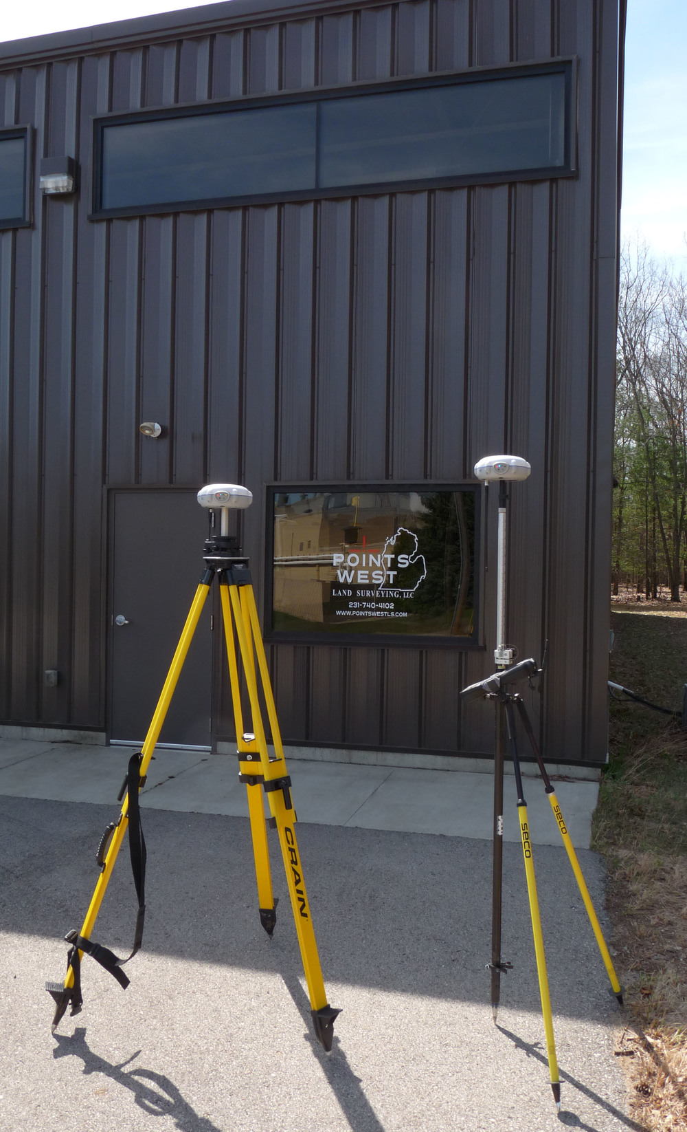 Points West Land Surveying is pleased to announce the acquisition of  a pair of  CHC  X91+  GNSS/GPS    Receivers.  The X91+ units are loaded with the third generation 220 channel  Trimble   BD970   multi-constellation processing engines for  Centimeter level positional accuracy and 99.9% positive solutions on  RTK initialization .