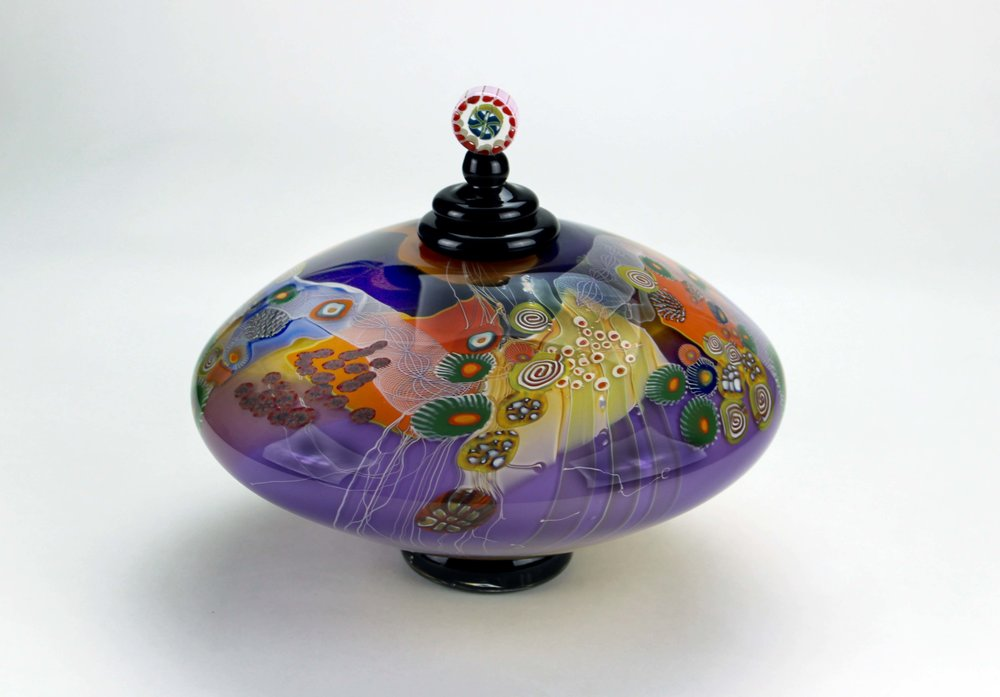 Colorfield Jar - The Traditional Lidded Form