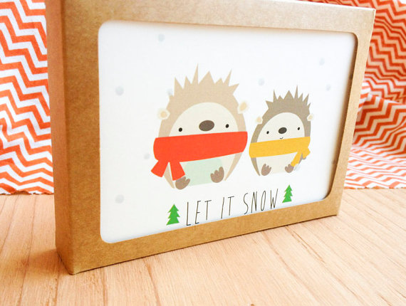 Hedgehog Notecards