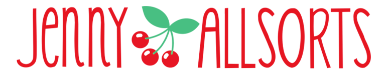 Jenny Allsorts Blog Title