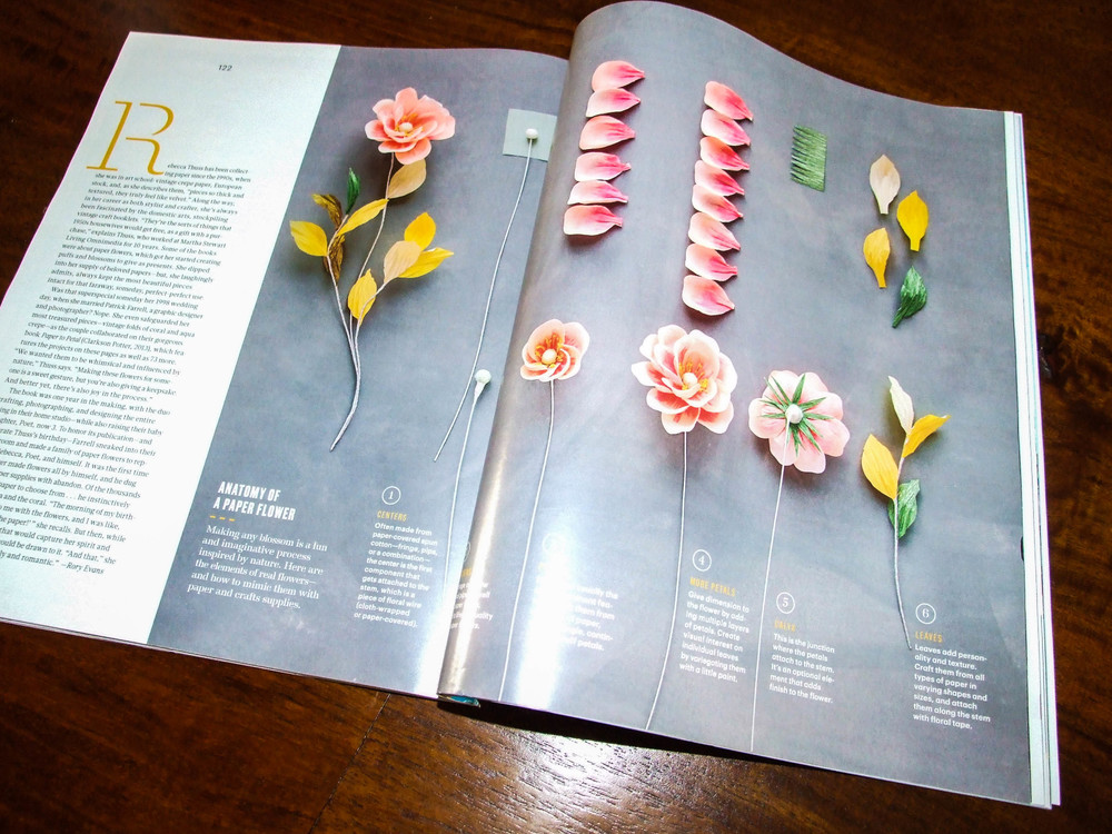 Page 122-123 Martha Stewart Living January | February 2014 Issue