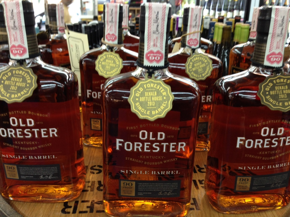 Dekalb Bottle House 5 Year Old Single Barrel Old Forester