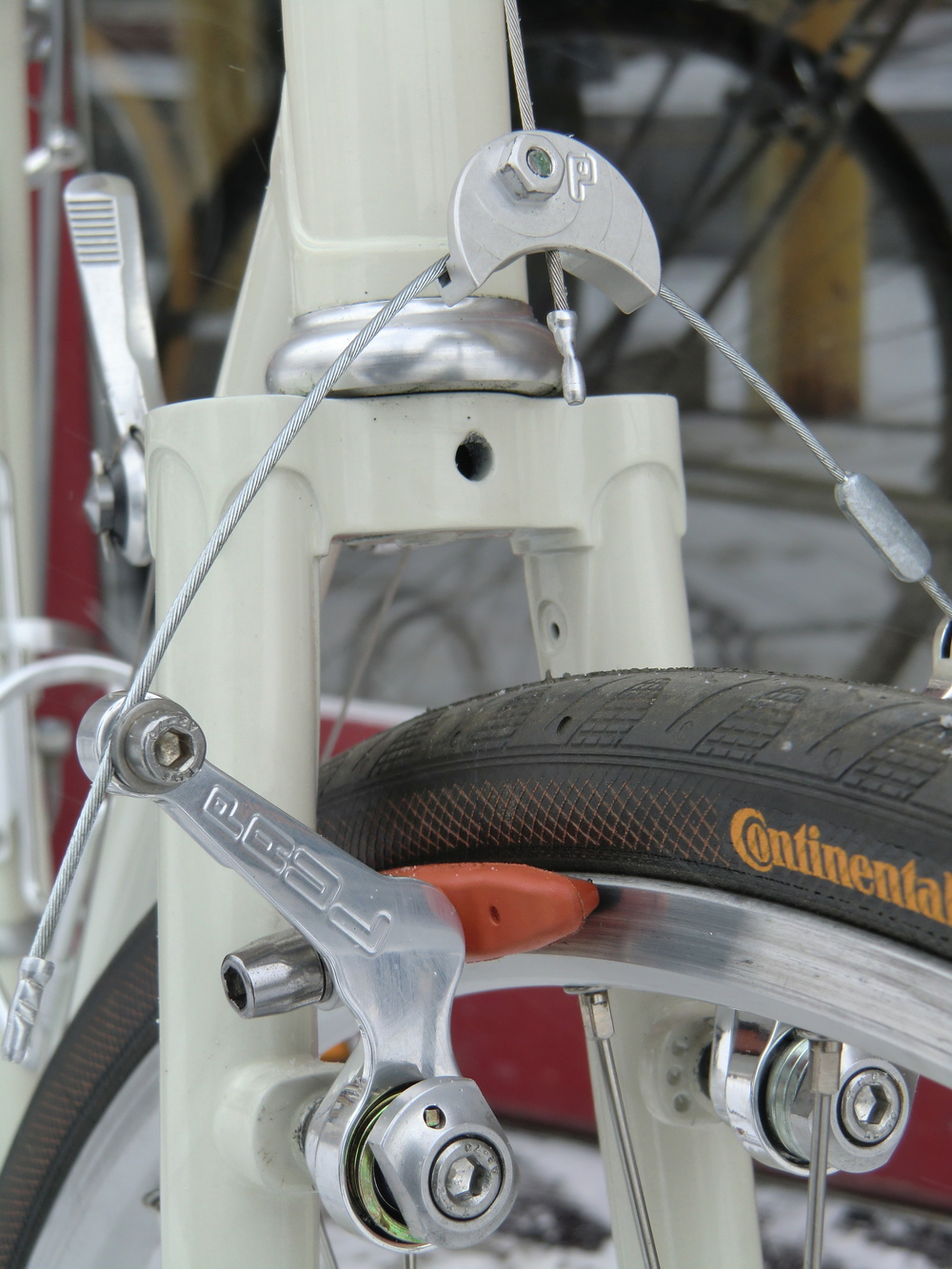 Rim Brakes are the Cat's Meow when they are  Paul's Brakes  made in Chico California.