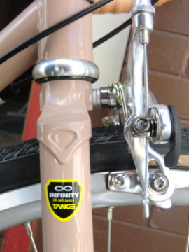 lugged ChroMo fork.