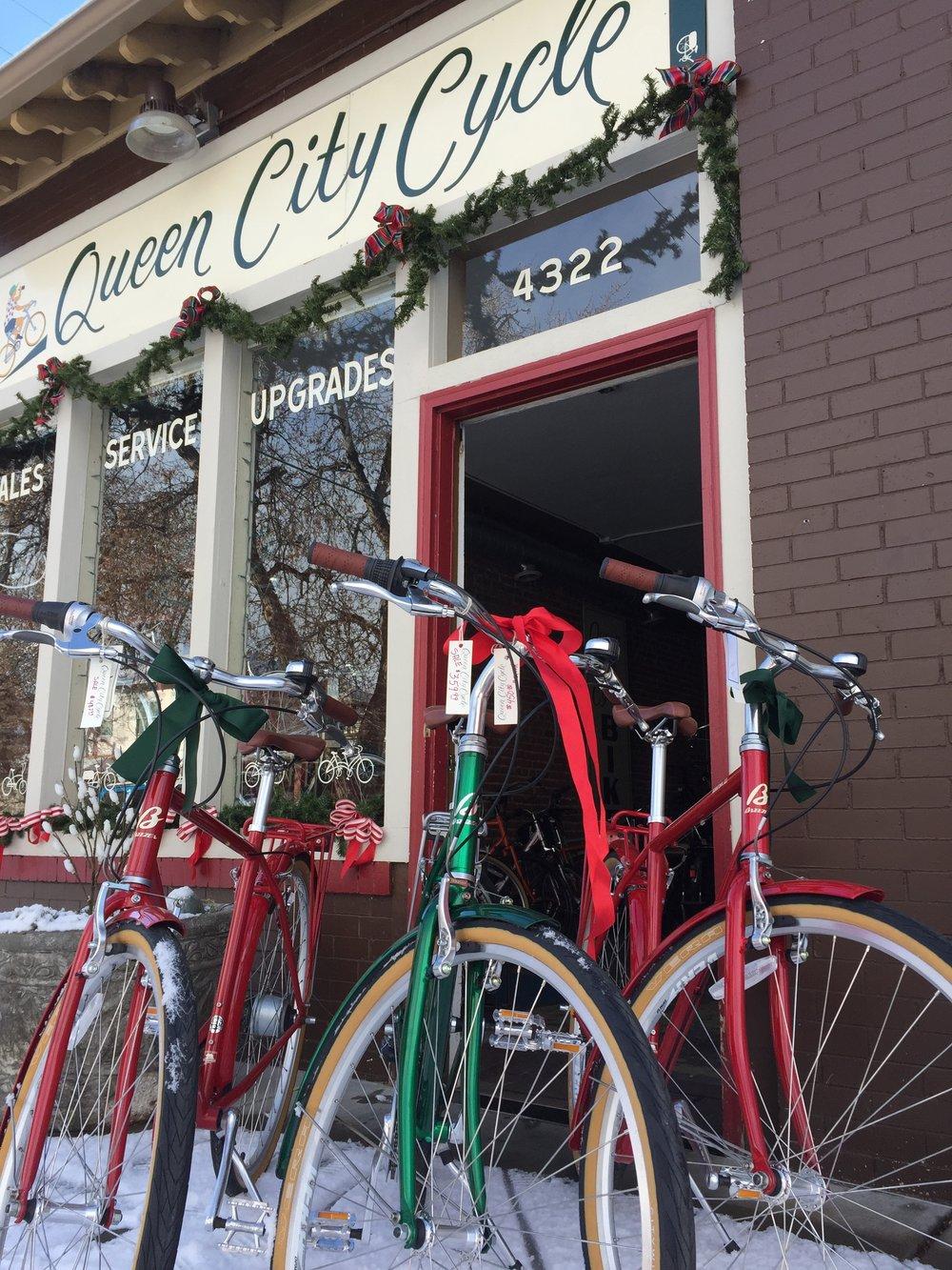 Breezer's Downtown 8-speeds beginning at $360