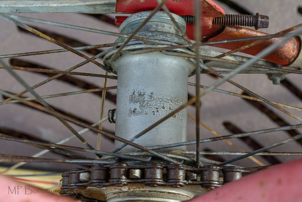 Original wheel set and hubs