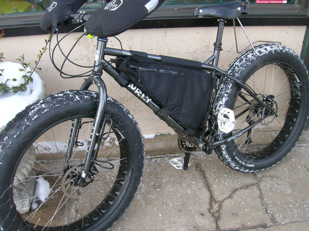 Surly started the trend of fat bikes with their Pugsly. The Moonlander was the fattest of them all.