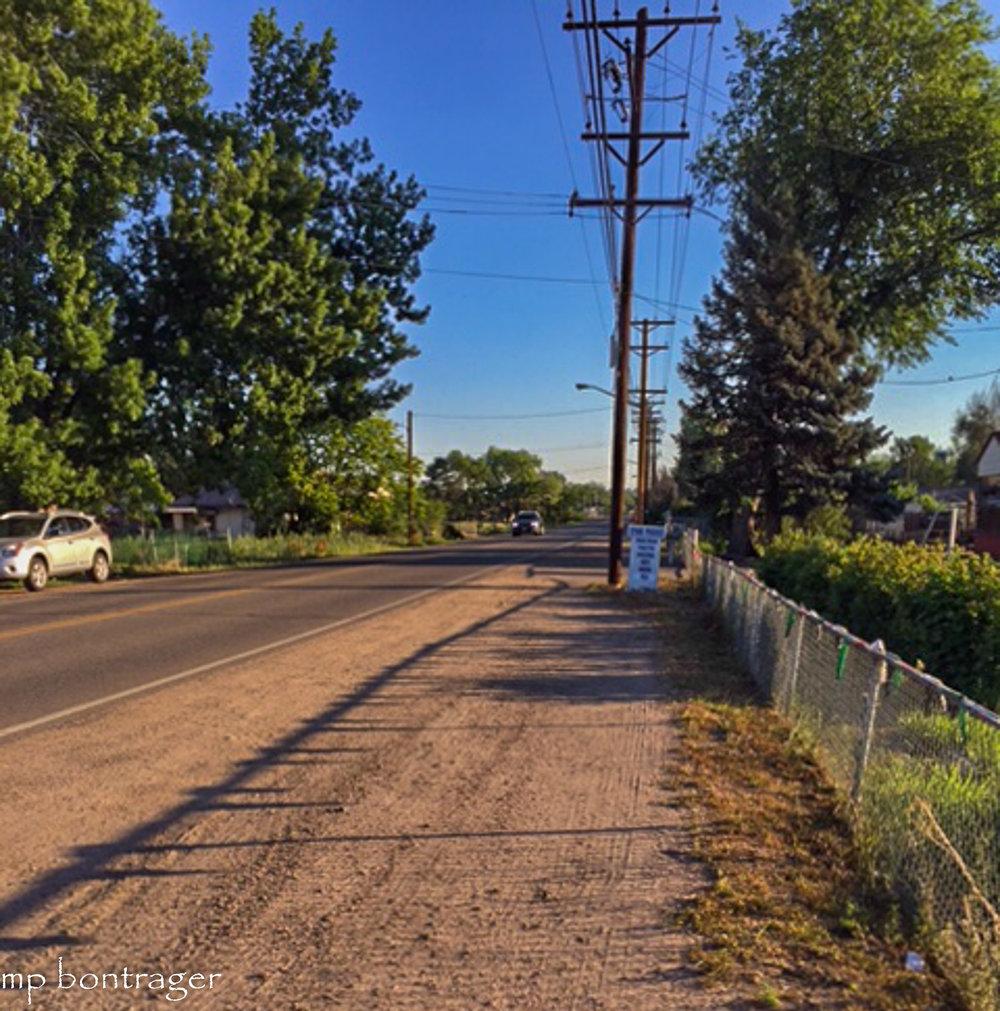 Lowell Blvd heading north