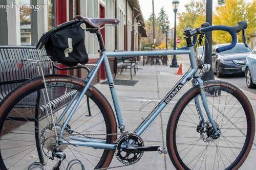 Double Cross Build - features a dynamo light system, Japanese components, and hand built wheel set.