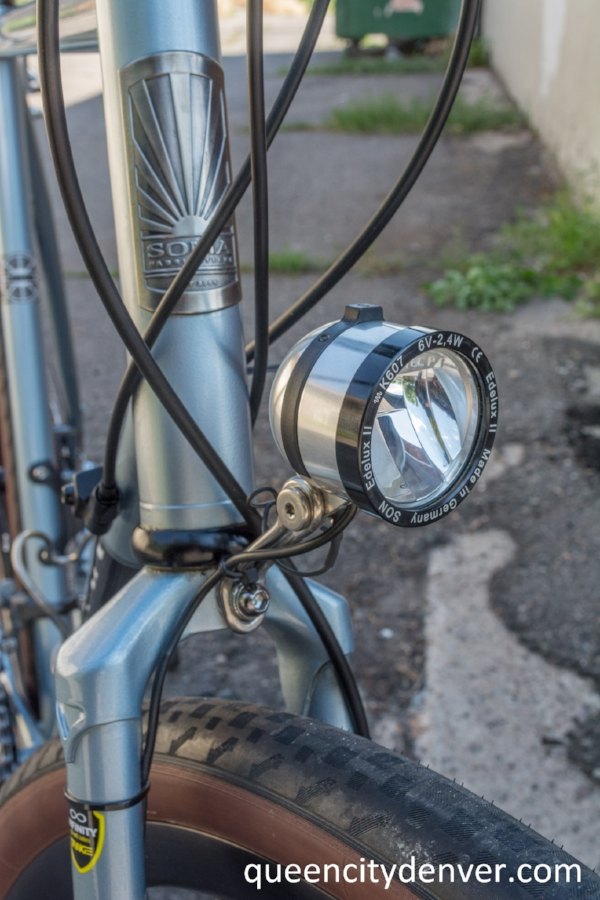 Schmidt Edelux head light