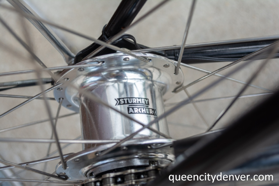 Brand new Sturmey Archer 5-speed Internally Geared Hub